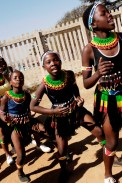 Sizanani dancers in South Africa-2009